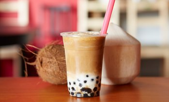 Bubble Tea mit 2 Toppings