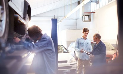 image for Car Maintenance Services at Burnt Rubber Garage (Up to 50% Off). Three Options Available.