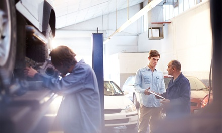 MOT Test and 10% Discount for Car Repair at Service MOT Repairs (50% Off)