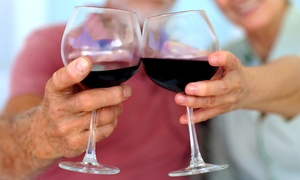 D&D Smith Winery: $25 for Wine Tasting with Two Glasses, Bottle of Wine, and Candle at D&D Smith Winery ($40 Value)