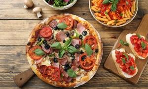 La Strada: Italienisches 2-Gänge-Menü mit Pizza oder Pasta für 2 oder 4 Personen im La Strada (bis zu 33% sparen*)