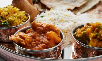 Two-Course Indian Meal with Sides for Two or Four at Gate of India (Up to 64% Off)