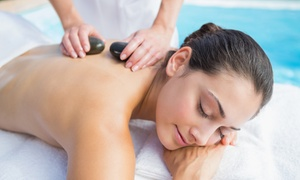 Adorez: Hot Stone Massage Plus Facial and Optional Indian Head Massage at Adorez (Up to 56% Off)