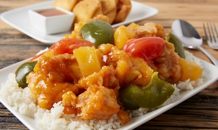 FourCourse Chinese Banquet $35 or 4 People $69 at Golden Barbeque Up to $145.60 Value