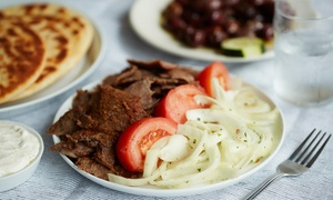 George's Pizza & Gyros: Pizza and Drinks for Two People or $11 for $18.26 Burgers and Pizza at George's Pizza & Gyros