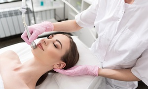 Derma Clinic: One or Three Diamond Microdermabrasion or Oxybrasion Treatments at Derma Clinic (Up to 74% Off)