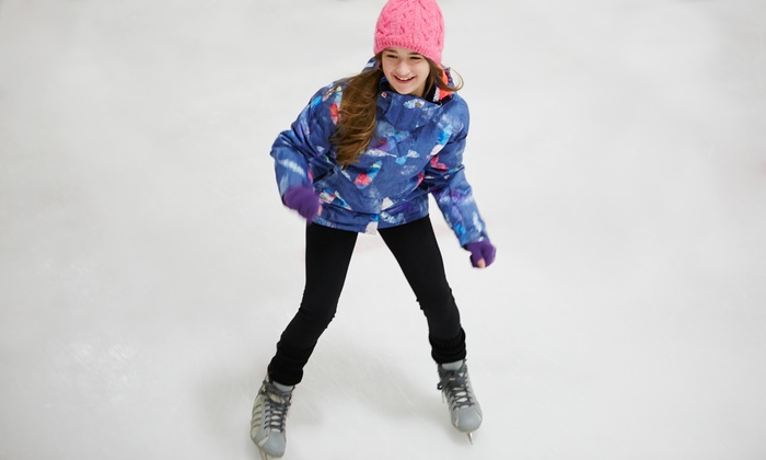 Hommocks Park Ice Rink - Larchmont: Indoor Ice Skating with Skate Rental for Two, Four, or Six at Hommocks Park Ice Rink (Up to 53% Off)