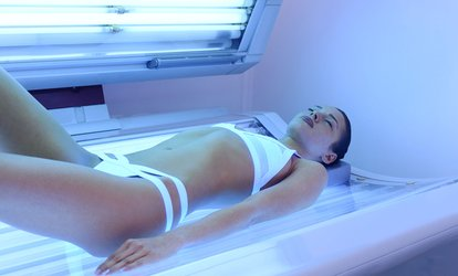 image for One Week of High- or Medium-Intensity Bed <strong>Tanning</strong> Sessions at That Perfect Glow (Up to 50% Off)