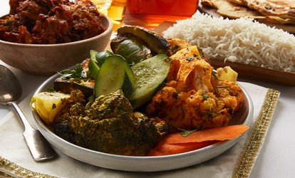 20% Cash Back at India's Tandoori Halal Restaurant