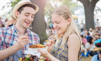 General or VIP Admission to Famous Food <strong>Festival</strong> on July 14 or 15 (Up to 50% Off)