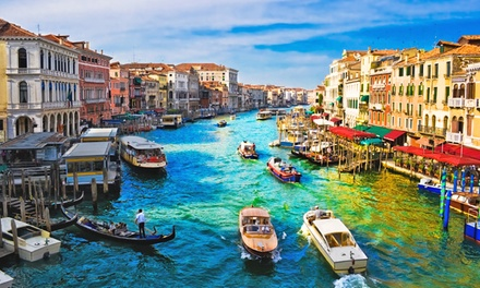 ✈ Venice: 24 Nights at a Choice of Hotels with Flights and Option for Gondola Ride*