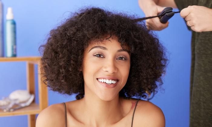 Studio Hair Rebolledo at Salons by JC-Buford - River Club: Salon Services at Studio Hair Rebolledo at Salons by JC-Buford (Up to 65% Off). Five Options Available.