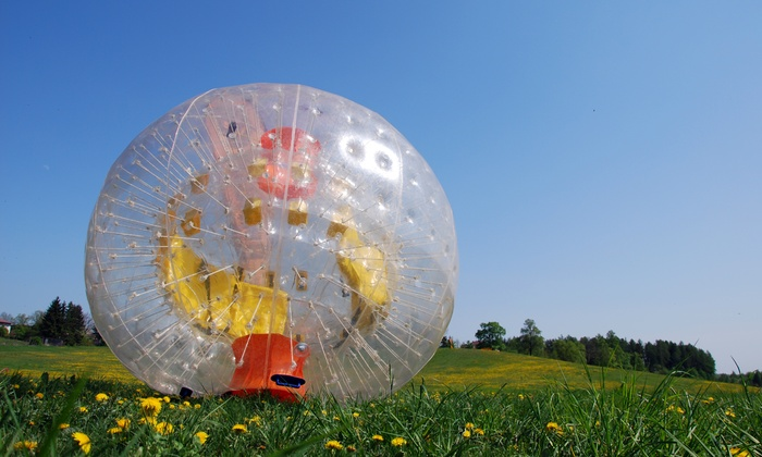 Pinesbubblesoccer - Silver Lakes: $100 for Bubble Soccer Session for up to 25 People from PinesBubbleSoccer ($175 value)