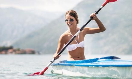 Alquiler de kayak individual o doble para 1 o 2 personas desde 12,95 € en Playaventura Gijón
