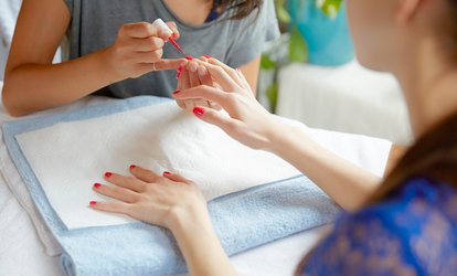image for One or Three Shellac <strong>Manicure</strong> at Glitz&Glamor (Up to 64% Off)