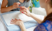 Manicure or Pedicure with Massage or Both at Indulge (Up to 33% Off)