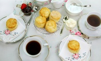 Cream Tea for Two at Time for Tea Vintage 1940s Tearoom (45% Off)