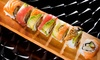 Up to 54% Off a Sushi Meal at Cucumber Sushi and Salad Bar
