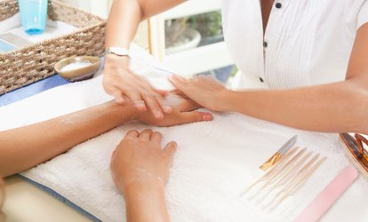 image for Luxury Spa Manicure, Luxury Pedicure or Both at The Salon Nail Boutique (Up to 56% Off)