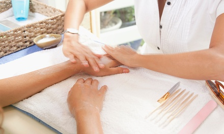 Luxury Spa Manicure, Luxury Pedicure or Both at The Salon Nail Boutique (Up to 56% Off)