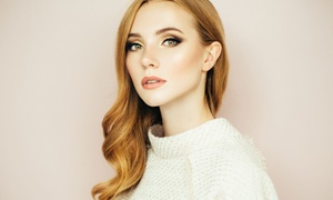 Fossi Hair & Beauty: Wash, Cut and Blow-Dry with Optional Half or Full Head of Highlights with Eleonor at Fossi Hair & Beauty (Up to 61% Off)