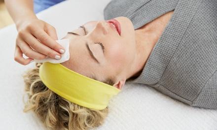 Soin du visage, option modelage ou 1h découverte avec réflexologie ou modelage dès 19,90 € à lInstitut IntemporElle