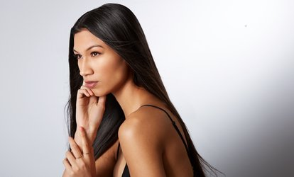 Brazilian Blowout with Optional Haircut at Yessy's <strong>Hair</strong> Studio (Up to 58% Off)
