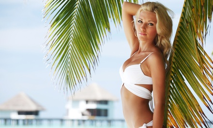 One or Four Airbrush Spray Tans at Simply Golden Airbrush Tanning (Up to 49% Off)
