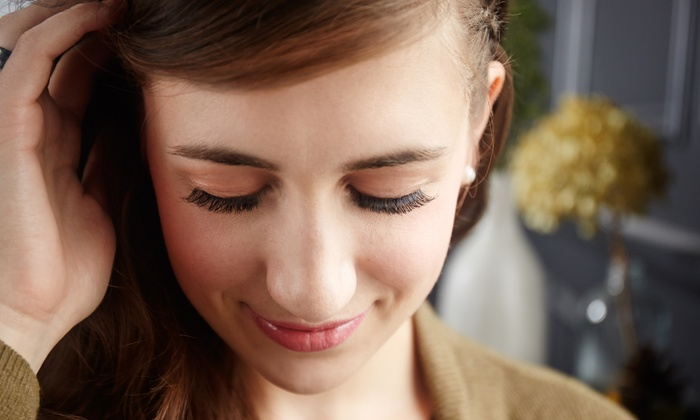 EPO Beauty - Cary: Full or Partial Set of Eyelash Extensions with Optional Touchups at EPO Beauty (Up to 61% Off)