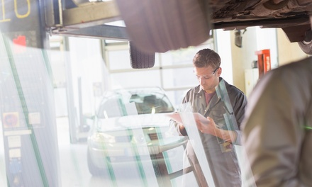 MOT Test or Car Service, or Both at Perivale Motor Repairs (Up to 67% Off*)
