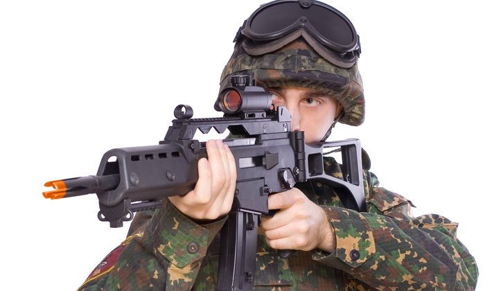 Airsoft equipment rental