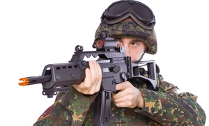 Airsoft Arena: All-Day Play for Two or Four, or Party for 10 at Airsoft Arena (Up to 63% Off)