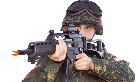 $52 for an Indoor Airsoft Outing for Four at Combat City USA Inc. ($120 Value)