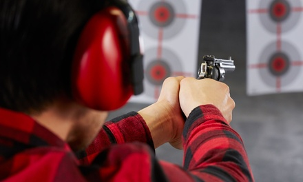 Indoor Gun Range Shooting Experience with 20 Rounds from R270 for One at Valkyrie Firearm Training