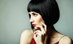 Platform Hair Co.: Highlights or Color with Haircut, Style, and Eyebrow or Lip Wax at Platform Hair Co. (40% Off)