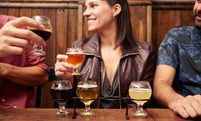 image for Wine and Beer Tasting with Souvenir Glasses for Two or Four at Arundel Cellars and Brewing Co. (Up to 55% Off)
