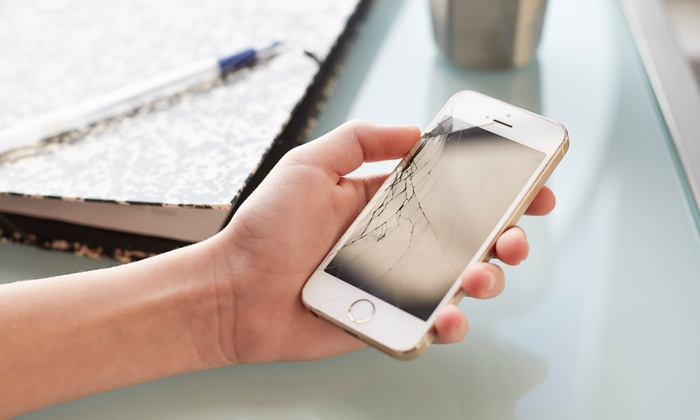 Mobile Rescue Tech Repair - Multiple Locations: Screen Repair or Battery Replacement at Mobile Rescue Tech Repair (Up to 51% Off). Four Options Available.