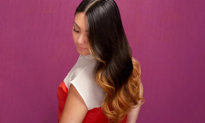 Signature Salon & Spa - Carolisa - Signature Salon & Spa - Carolisa: Haircut with Conditioning Treatment, Highlights, or Color at Signature Salon & Spa - Carolisa (Up to 54% Off)