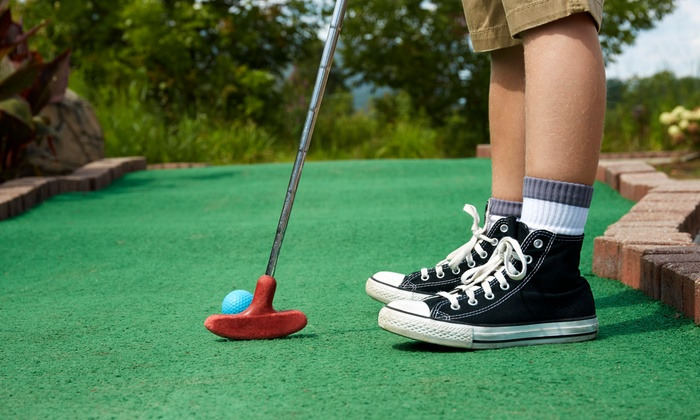 Nick's Mini Golf - Multiple Locations: All-Day Unlimited Mini-Golf for Two or Four at Nick's Mini Golf (Up to 42% Off)