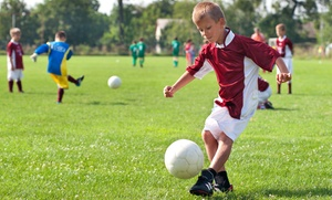 Little Legends Soccer Academy: Six-Week Kids' Soccer Program at Little Legends Soccer Academy (Up to 51% Off). 10 Options Available.