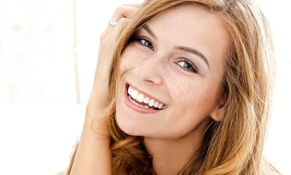 image for One or Three Microcurrent Non-Surgical Facelifts at About Faces (Up to 66% Off)