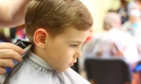 One, Two or Four Boys Haircuts at Kids Friendly Salon (Up to 41% Off)