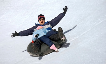 Friday-Night Snow Tubing for Two or Four at Eko Backen (48% Off)
