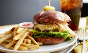 Viva Burger: Burgers, Sides, and Drinks at Viva Burger (Up to 50% Off). Two Options Available.