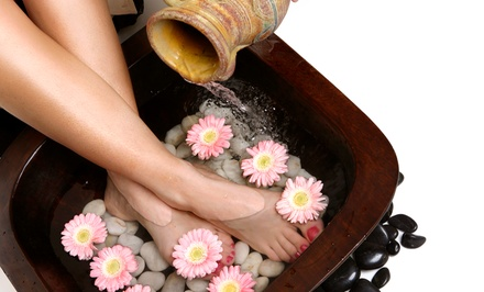 1, 5, or 10 Detoxifying Ionic Footbaths at Oak Creek Relief and Wellness (Up to 57% Off)