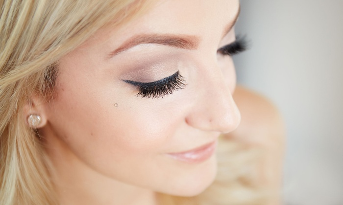 Eyelash Lab - Multiple Locations: One Full Set of Eyelash Extensions with One, Three, or Five Refills  at Eyelash Lab (Up to 65% Off)