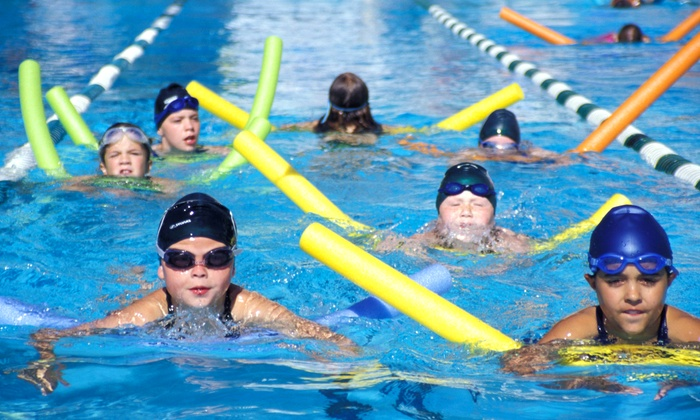Evergreen Community Aquatic Center - Highline: Exercise Classes or Open-Swim Sessions at Evergreen Community Aquatic Center (61% Off). Three Options Available.