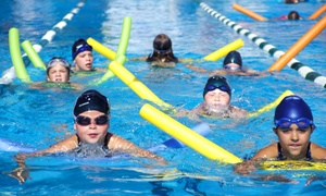 Evergreen Community Aquatic Center: Exercise Classes or Open-Swim Sessions at Evergreen Community Aquatic Center (61% Off). Three Options Available.