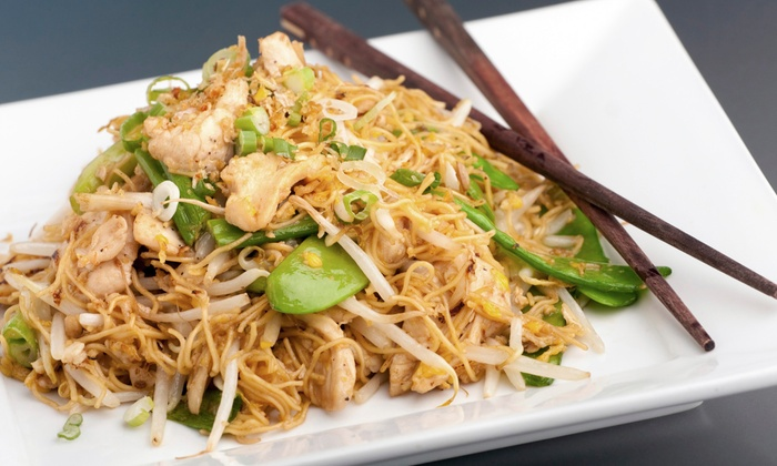 Lime Leaf Thai Restaurant - Windy Hill: $13 for $25 Worth of Thai Dinner Fare and Drinks at Lime Leaf Thai Restaurant