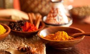 Royal India: Heerlijk Indisch vegetarisch viergangen keuzemenu in hartje Gent bij Royal India vanaf 49,99€